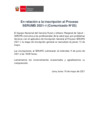 Vista preliminar de documento En relación a la inscripción al Proceso SERUMS 2021–I (Comunicado N°03)