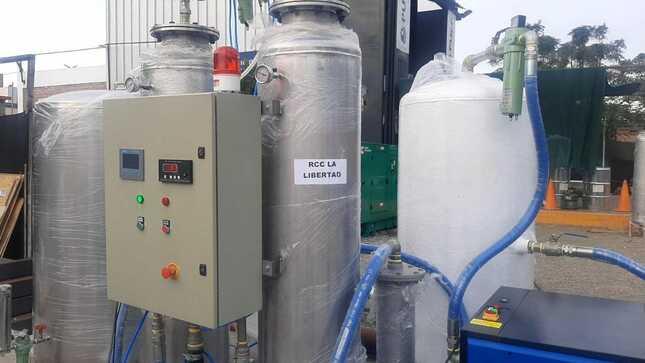 Llega nueva planta de oxígeno para Trujillo