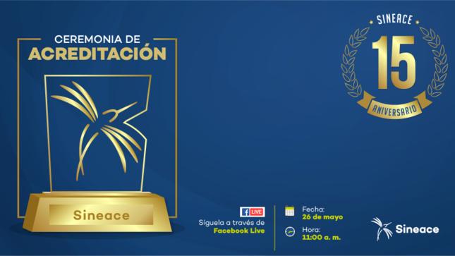 Ceremonia de Acreditación: Conoce a los 92 programas de estudios que serán reconocidos por el Sineace