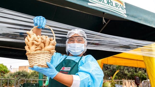 """Agro Rural programa 73 fechas de los Mercados MIDAGRI  """"De la Chacra a la Olla"""" 2021 en Lima y el interior del país"""