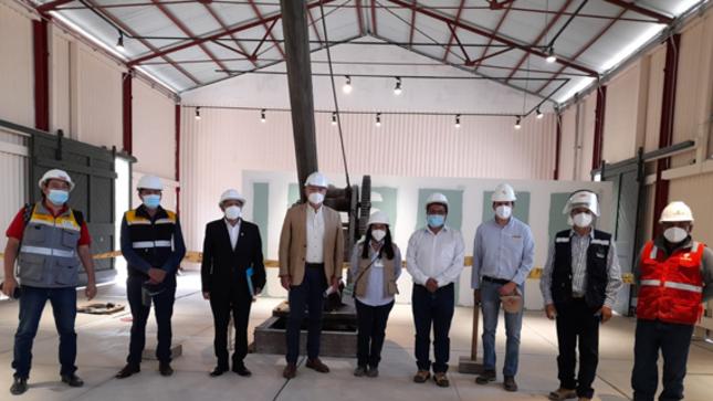 Obra del Museo Ferroviario de Tacna tiene un Avance Físico de 75%