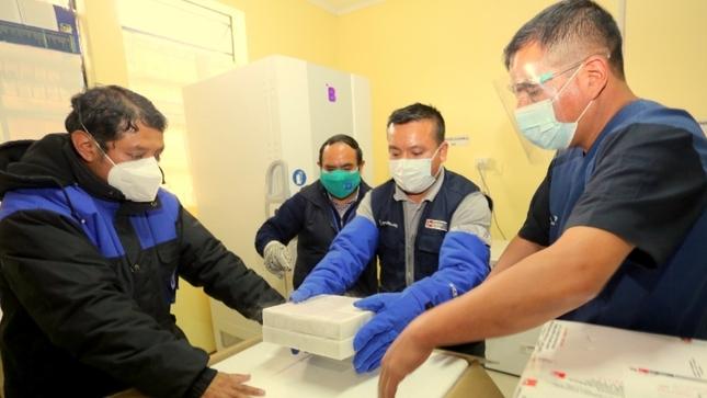Gobierno Regional distribuirá nuevo lote de 28 614 dosis de vacunas Pfizer contra la COVID-19