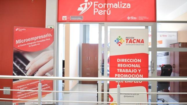 MTPE inaugura nueva sede del Centro Integrado Formaliza Perú en Tacna