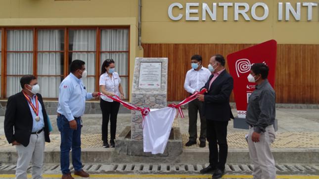 Plan COPESCO Nacional inaugura Obra Ruta del Café en Villa Rica Oxapampa