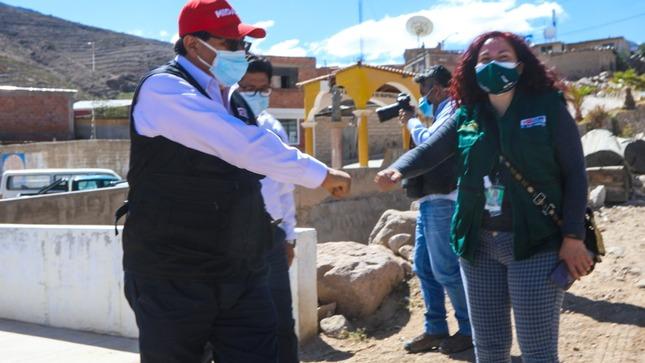 Tacna: Agro Rural del MIDAGRI inicia coordinaciones para elaboración del expediente técnico de la obra represa Callazas en Candarave