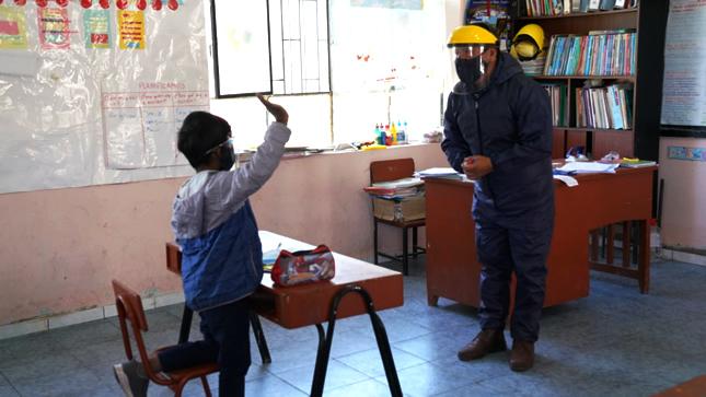 431 colegios de zonas rurales ya han empezado clases semipresenciales