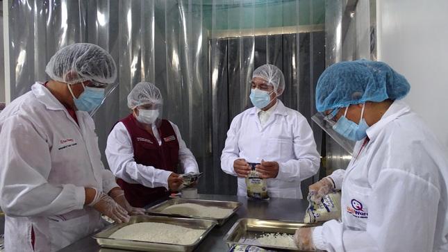 Piura: Qali Warma, UGEL y subprefectura verifican calidad de alimentos que serán consumidos por escolares de Morropón