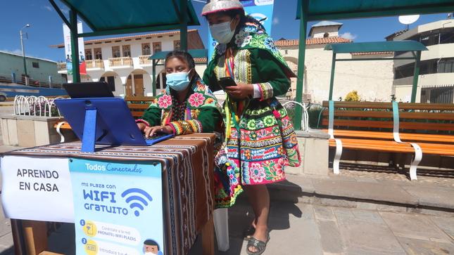 Proyecto de banda ancha: más de 600 instituciones cusqueñas conectadas