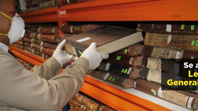 Se aprueba nueva Ley del Archivo General de la Nación