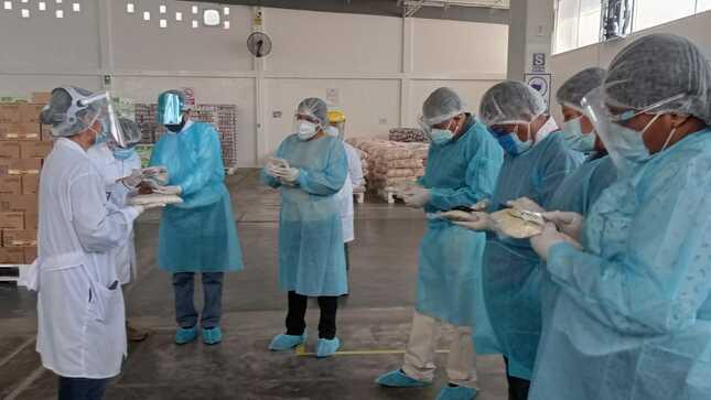 Tacna: Prefecto y subprefectos supervisan calidad e inocuidad de alimentos distribuidos por Qali Warma