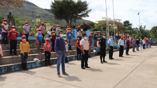 Municipalidad Distrital de Jepelacio y el Programa Trabaja Perú ejecutarán 3 Actividades de Intervención Inmediata