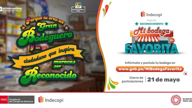 Este 21 de mayo vence plazo para participar en el Reconocimiento  'Mi Bodega Favorita'