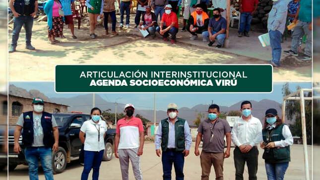 Trabajando de manera articulada en beneficio de los productores agropecuarios de Virú y Chao.