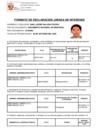 Vista preliminar de documento Declaración Jurada de Intereses - Árbitros