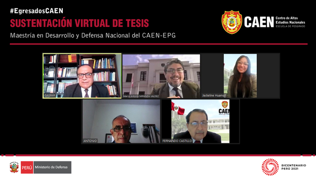 Sustentación virtual de tesis - Manuel Antonio Vélez Carrasco