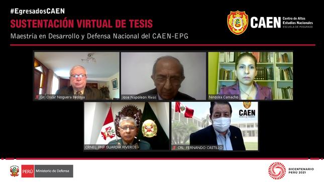 Sustentación virtual de tesis - Jorge Tomas Guardia Riveros