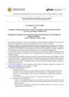 """Vista preliminar de documento Llamada a Licitación:  Programa """"Mejoramiento de los Servicios de Justicia en Materia Penal en el Perú"""" Contrato de Préstamo: 4959/OC-PE"""