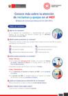 Vista preliminar de documento Conoce más sobre la atención de reclamos y quejas en el MEF