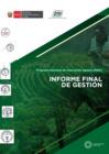 Vista preliminar de documento Informe Final de Gestión PNIA