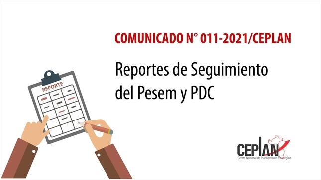 Comunicado 011-2021/CEPLAN