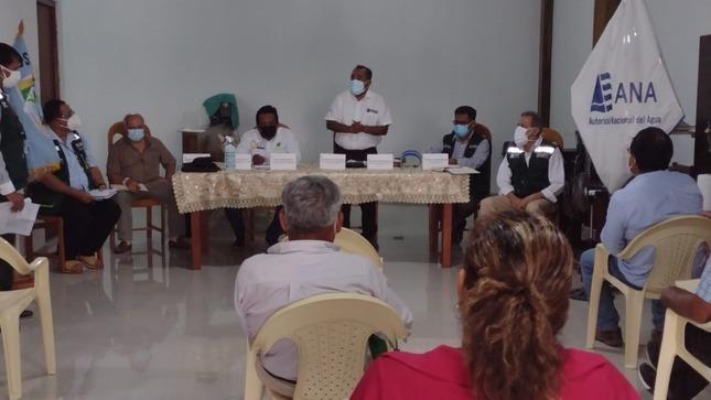 Capacitan a usuarios de agua de Piura y Cajamarca sobre protocolos de bioseguridad ante proceso electoral extraordinario