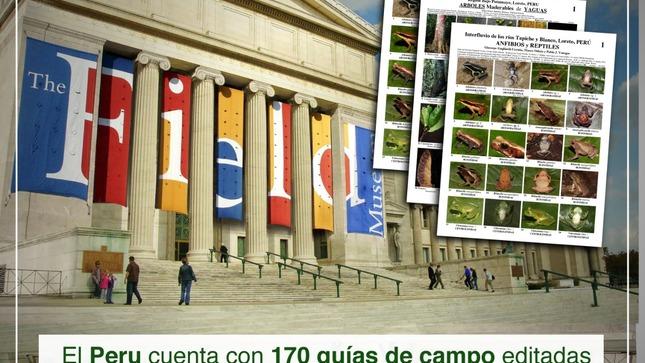 El Perú cuenta con 170 guías de campo editadas por el Museo Field de Historia Natural de Chicago