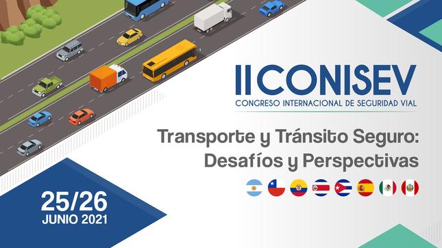 SUTRAN inicia las inscripciones para el segundo Congreso Internacional de Seguridad Vial (CONISEV)