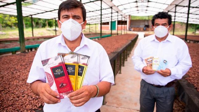 Amazonas: Con apoyo del MIDAGRI productores exportan 200 toneladas anuales de cacao fino de aroma a Europa