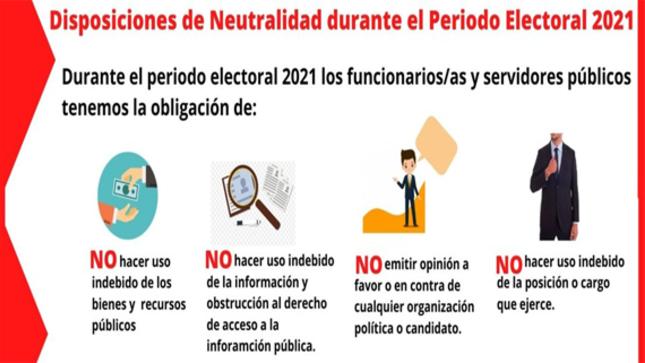 Neutralidad Electoral en el sector público del Municipio Uchicino.