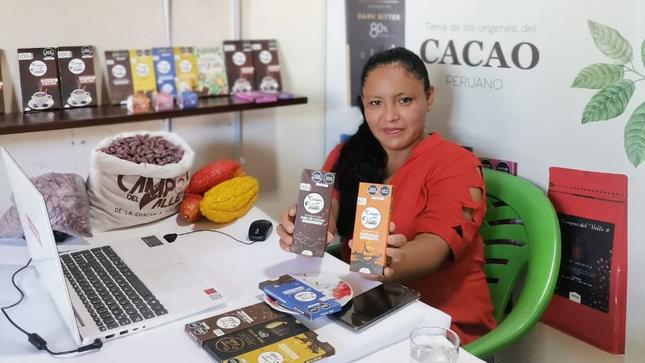 MIDAGRI genera interés de compra de 250 toneladas de cacao del VRAEM