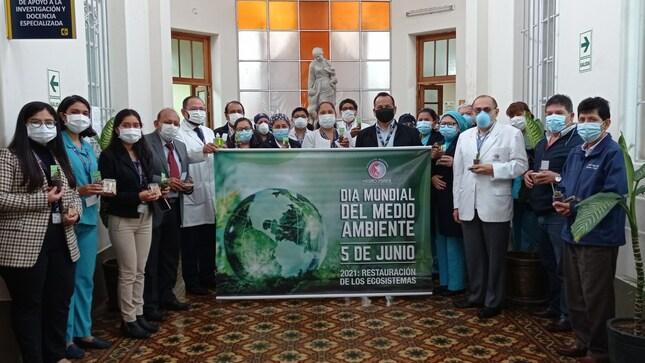 Conmemoran Día Mundial del Medio Ambiente en el INMP