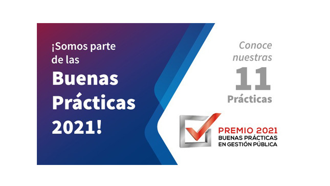 Once iniciativas de la SUNAFIL certificadas como Buenas Prácticas en la Gestión Pública 2021