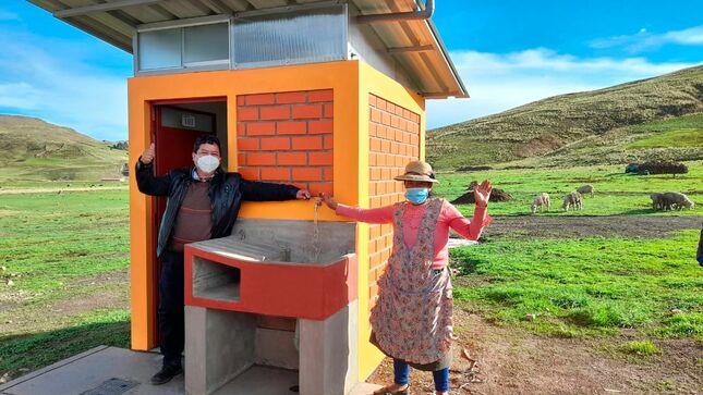 Puno: Ministerio de Vivienda inaugura obras de agua y saneamiento por más de S/16 millones en Lampa y Azángaro