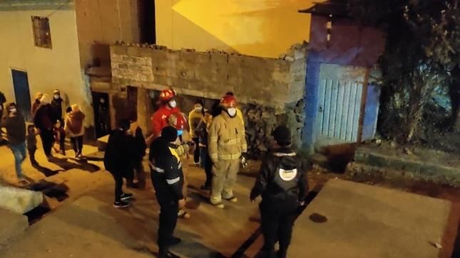 Municipalidad de Pasco brindó apoyo a familia afectada por incendio de su vivienda en Huancapucro