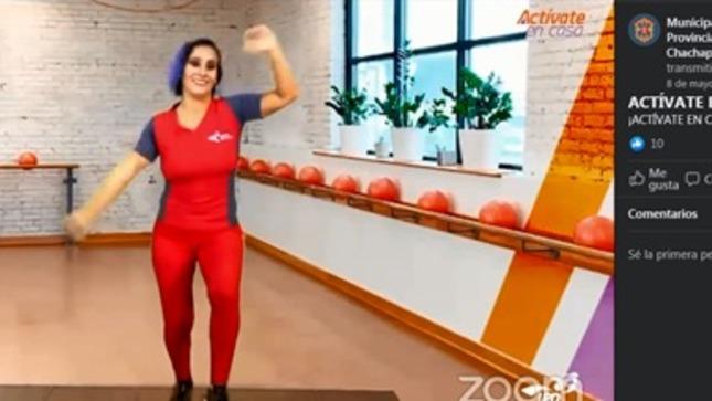 MPCH impulsa la actividad física en casa
