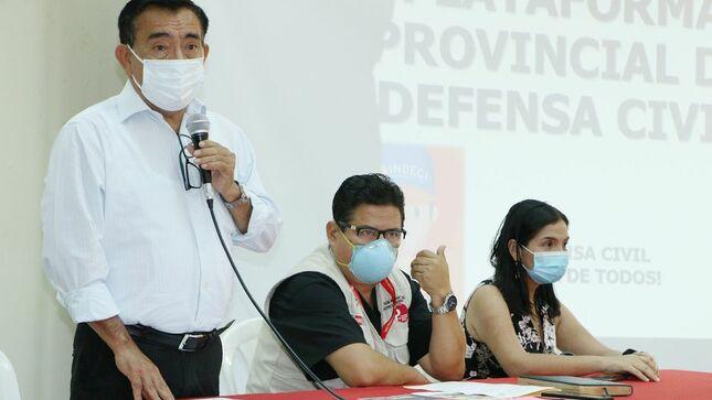 Miembros de la plataforma de defensa civil provincial debaten proceso de vacunación, situación de casos COVID y otras situaciones relevantes