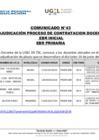 Vista preliminar de documento Comunicado n°43 Adjudicación proceso de contratacion docente