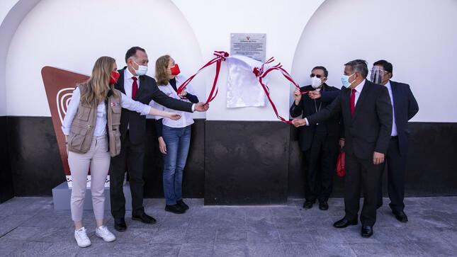 Se inauguró el Templo de Burgos en Chachapoyas