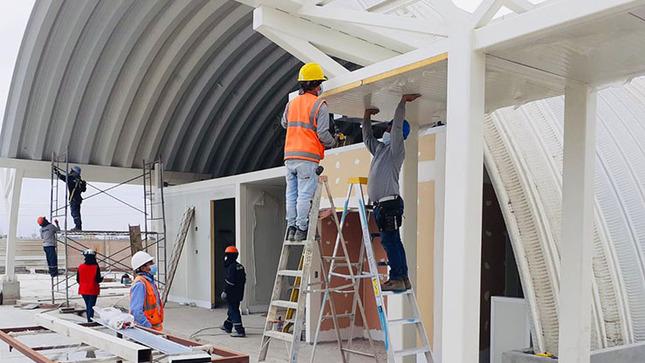 Ica: continúa construcción del primer hospital modular del Perú
