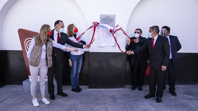 Región Amazonas: Plan COPESCO Nacional inaugura Templo de Burgos en Chachapoyas