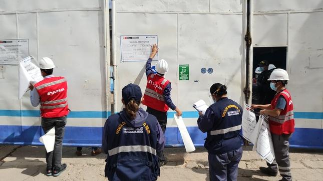 Ayacucho: Clausuran terminal informal que ofrecía el servicio de transporte hacia Andahuaylas, Abancay y Cusco sin medidas de seguridad
