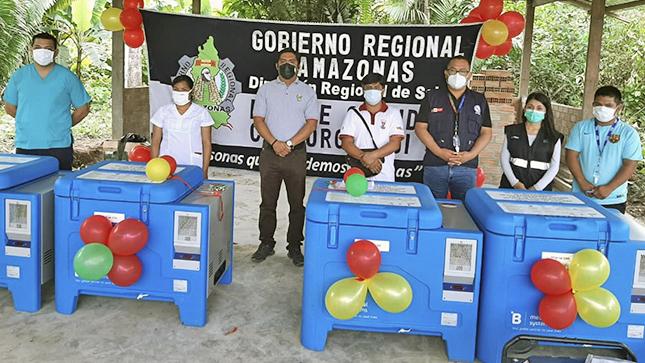 GOREA entrega congeladoras fotovoltaicas para las comunidades de Kigkis, Ipakuma, Cachiaco y Nupatkaim