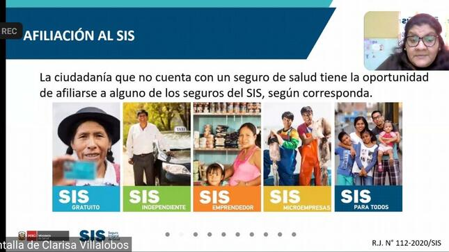 Ministerio de Cultura promueve la inscripción de artistas al Seguro Integral de Salud - SIS