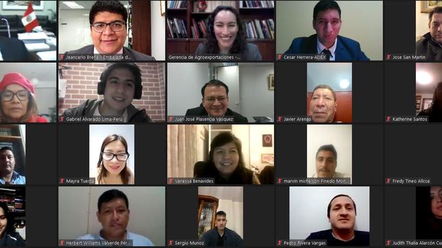 """Participación de la Embajada del Perú en el seminario """"Oportunidades Comerciales en Corea del Sur para Café Y Cacao"""" de ADEX"""