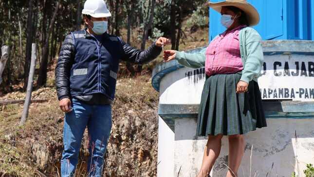 Se viene realizando la instalación de sistemas de cloración en reservorios de seis caseríos de la provincia