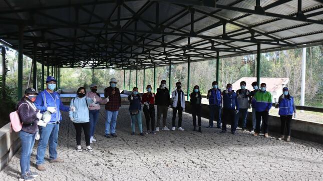 Pasantía con el voluntariado ambiental juvenil