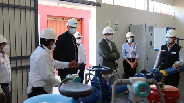 Delegación de Cooperación Alemana visitó la sede de SENCICO Piura
