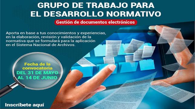 """Archivo General de la Nación formará """"Grupo de trabajo para el desarrollo normativo"""""""