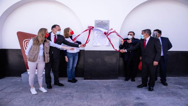 Plan COPESCO Nacional inaugura Templo de Burgos en Chachapoyas