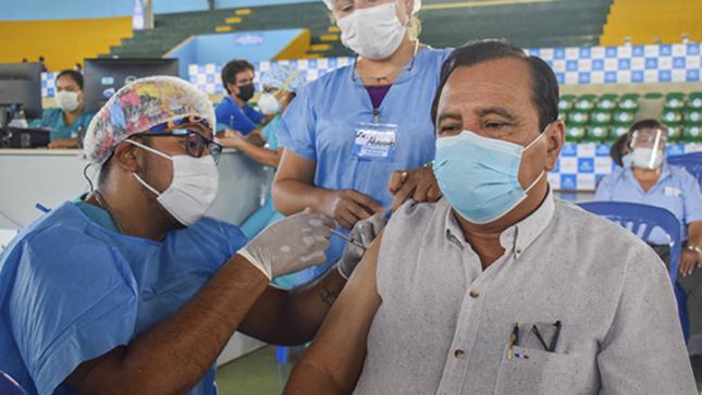 Ucayali registra más de cinco mil vacunados con segunda dosis contra la COVID-19